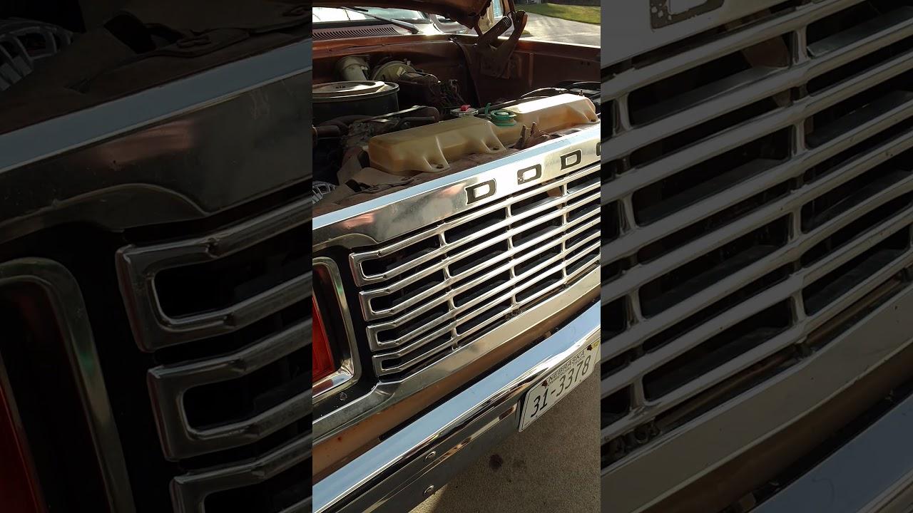 1978 Dodge Powerwagon New Alternator And Voltage Regulator Youtube 1977 Power Wagon Wiring Diagram