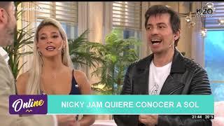 Sol Pérez le responde a Nicky Jam