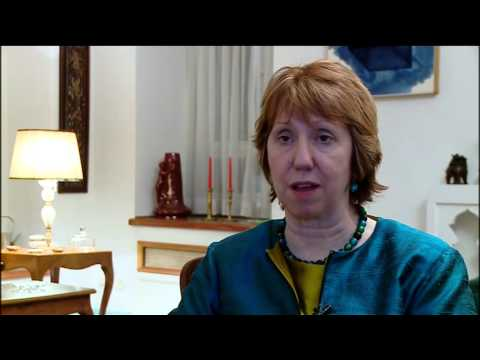 Catherine Ashton in Iran - Press Statement