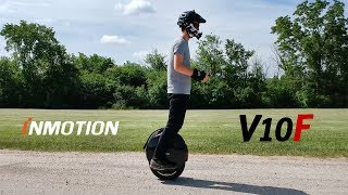 Inmotion V10F Unicycle eléctrico: First 100 Miles - POV Impressions Riding