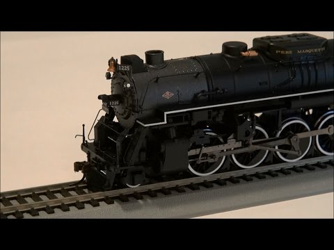 Review: Bachmann Berkshire w/ DCC Sound Value HO Scale Pere Marquette 1225
