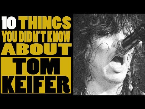 10 Things you didn't know about Tom Keifer of Cinderella