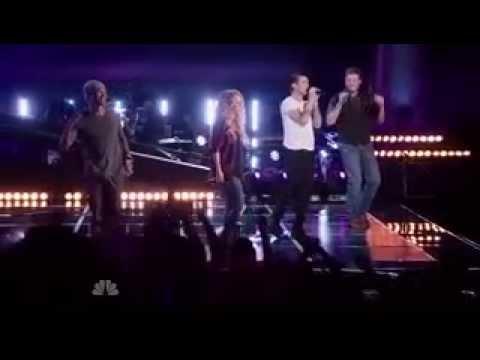 The Voice 2014 Judges Performance | Blake | Shakira | Usher | Adam