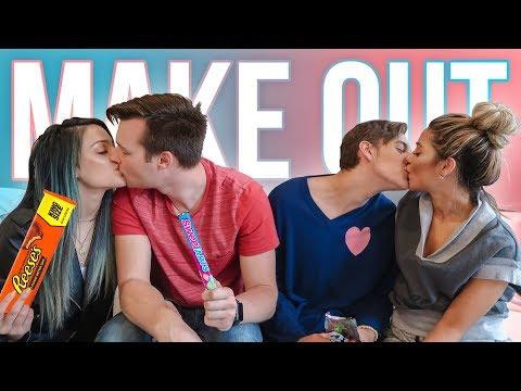 What's In My Mouth MAKEOUT EDITION! Niki & Gabi Take New York