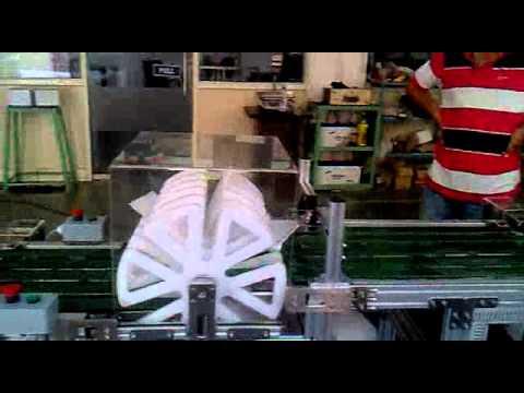 Auto Flip Conveyor System Adept Engineers Youtube