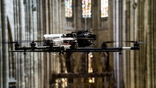 UAV- / Drone-based Heritage Monument Indoor Inspection
