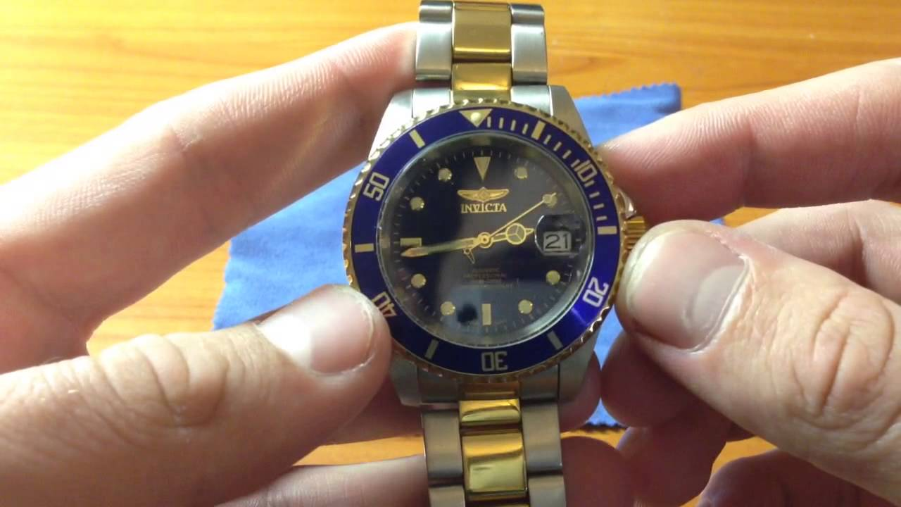 Invicta 8927ob Pro Diver Watch Review Youtube