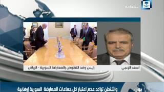 الزعبي: نظام الأسد الإرهابي وداعموه  من الجانب الإيراني والروسي لا يقبلون بأي حل سياسي