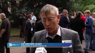 Social : les salariés de l'industriel G.E.A. en grève