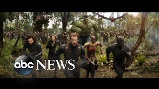 From 'Black Panther' to 'Spider-Man,' superheroes abound in 'Avengers: Infinity War'