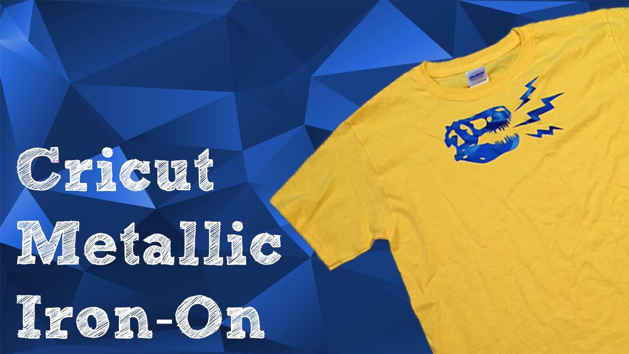 Cricut Metallic Iron-On Review | Plus Giveaway!
