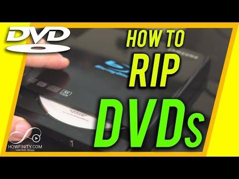 How To RIP A DVD On A Computer - Digitize Your DVDs