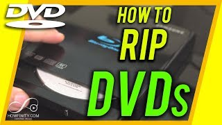 How to RIP a DVD on a computer-Digitize your Dvds