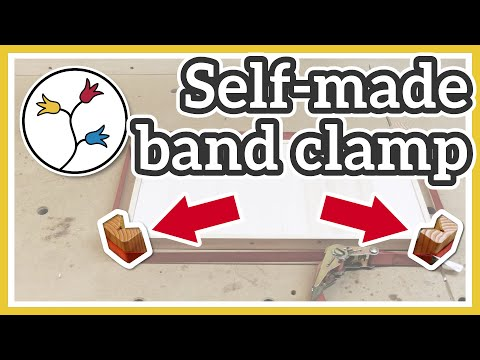 Make a simple band clamp – Cheap and simple DIY corner clamps