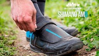 Zapatillas Shimano AM9 Banco De Pruebas Alotrolado MTB
