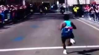 Kebede takes Mutai at London Marathon 2013