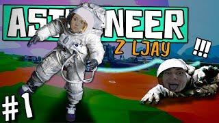 DUSIMY SIĘ - #1 CO-OP z LJAY'EM!   ASTRONEER 