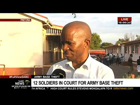 SANDF Officers Accused Of Arms Theft Appear In Court