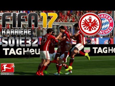 FIFA 17 KARRIERE S01E32 • 24. SPIELTAG • FC Bayern vs. Eintracht Frankfurt