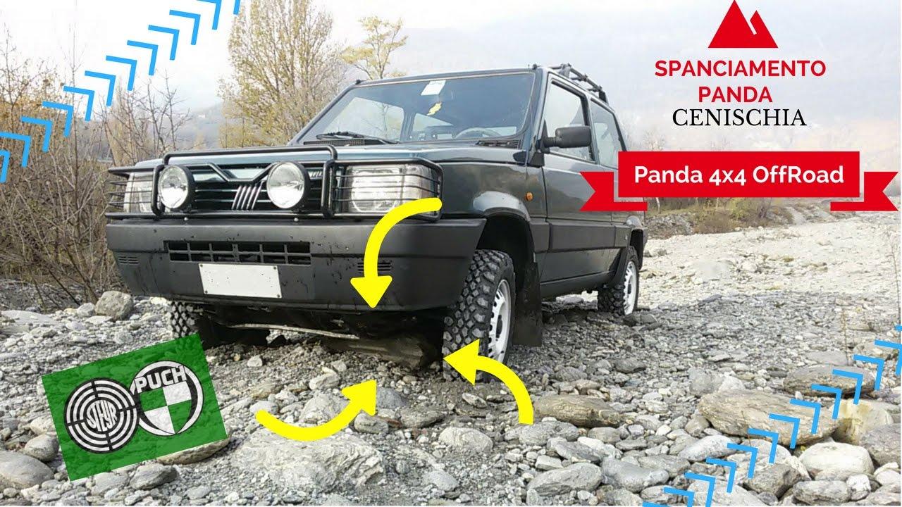 Panda 4x4 spanciata traino youtube for Panda 4x4 youtube