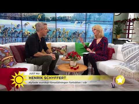 """Henrik Schyffert: Om kärleken till Nour och """"Köttets lustar"""" - Nyhetsmorgon (TV4)"""