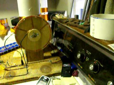 Newman motor #2; and it works - YouTube