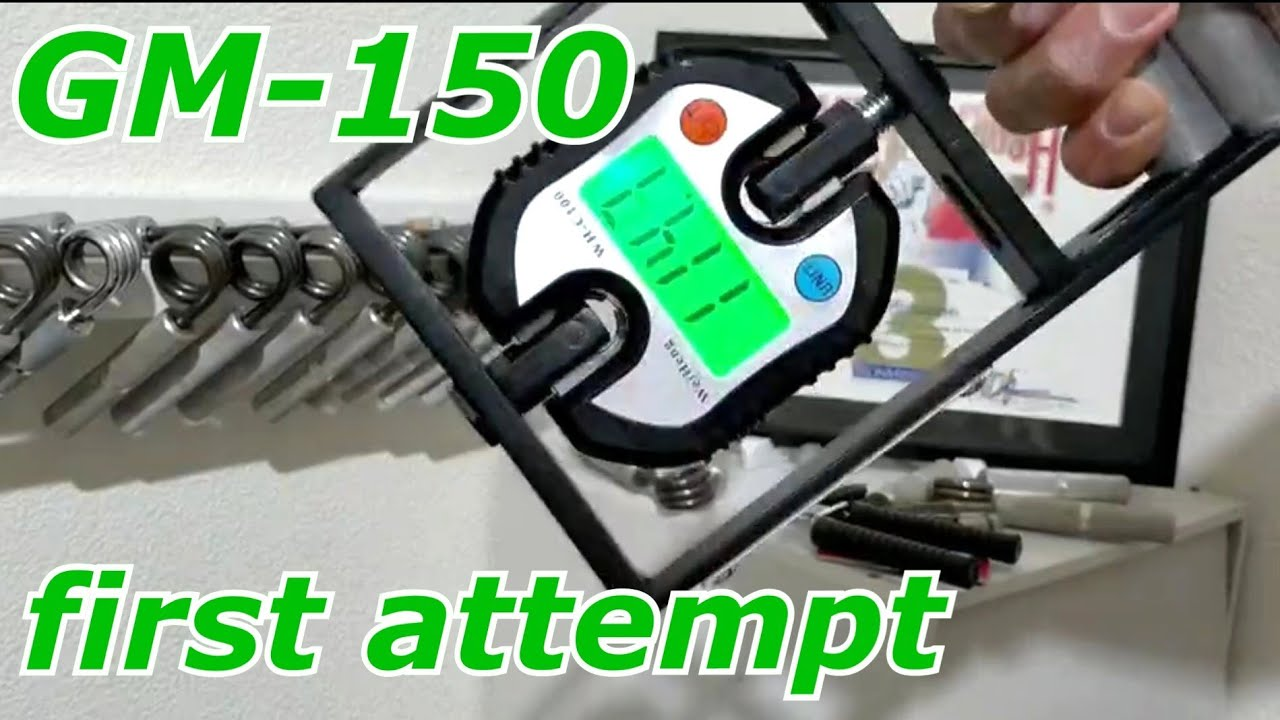 GM-150 first attempt