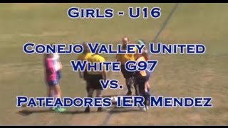 Conejo Valley United G97 v Pateadores IER