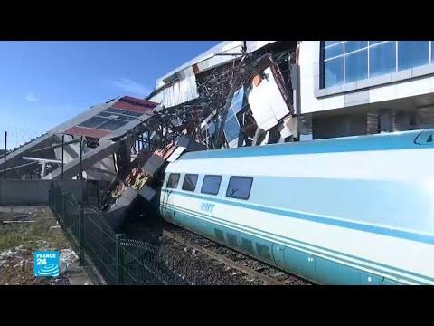 قتلى وجرحى إثر حادث قطار في العاصمة التركية أنقرة  - نشر قبل 2 ساعة