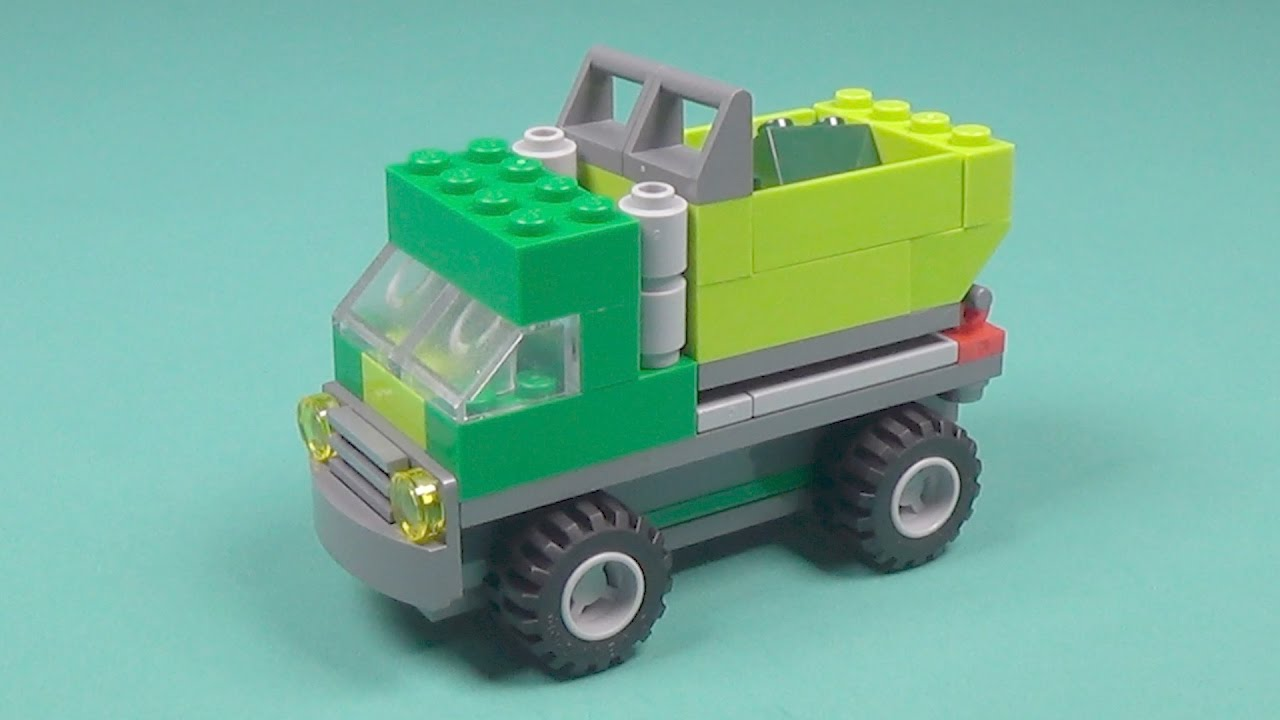 Lego Garbage Truck Building Instructions Lego Classic 10704 How