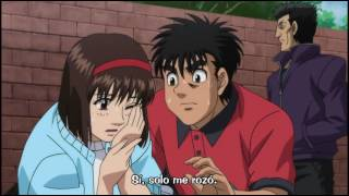 Sawamura golpea a Kumi