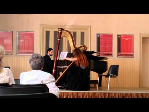 Debussy - Danze sacre e profane - Arpa e pianoforte