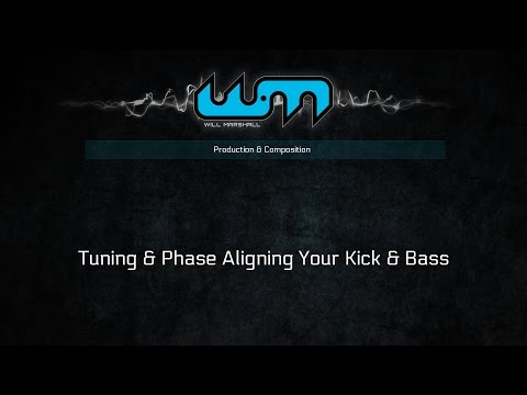 Tuning & Phase Aligning Your Kick & Bass