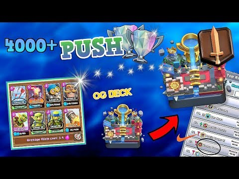 Pushing To League 1! For Top Clans Access! :: Clash Royale