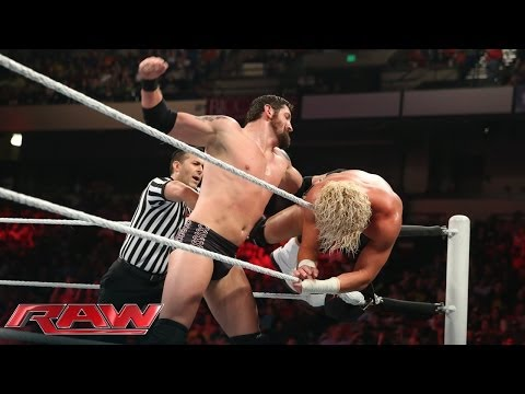 Dolph Ziggler Vs. Bad News Barrett - Intercontinental Title Tournament Match: Raw, April 14, 2014
