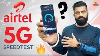 I Tested AirTel 5G In India - Crazy Fast Speeds🔥🔥🔥