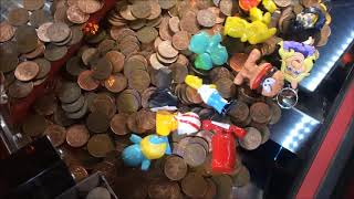 Deal or No Deal UK Coin Pusher - Rapid Fire Play (2p Coin Penny Pusher Jackpot)