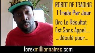 ROBOT DE TRADING MT4    FOREX EA  1 Trade Par Jour   29 Nov 2018