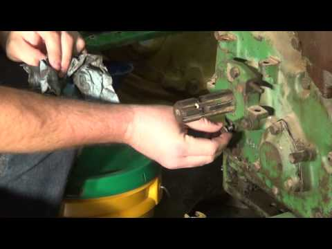 John Deere 730 Diesel Wiring Diagram Part 30 Pto Oil Amp Pto Clutch Adjustment Mpg Youtube