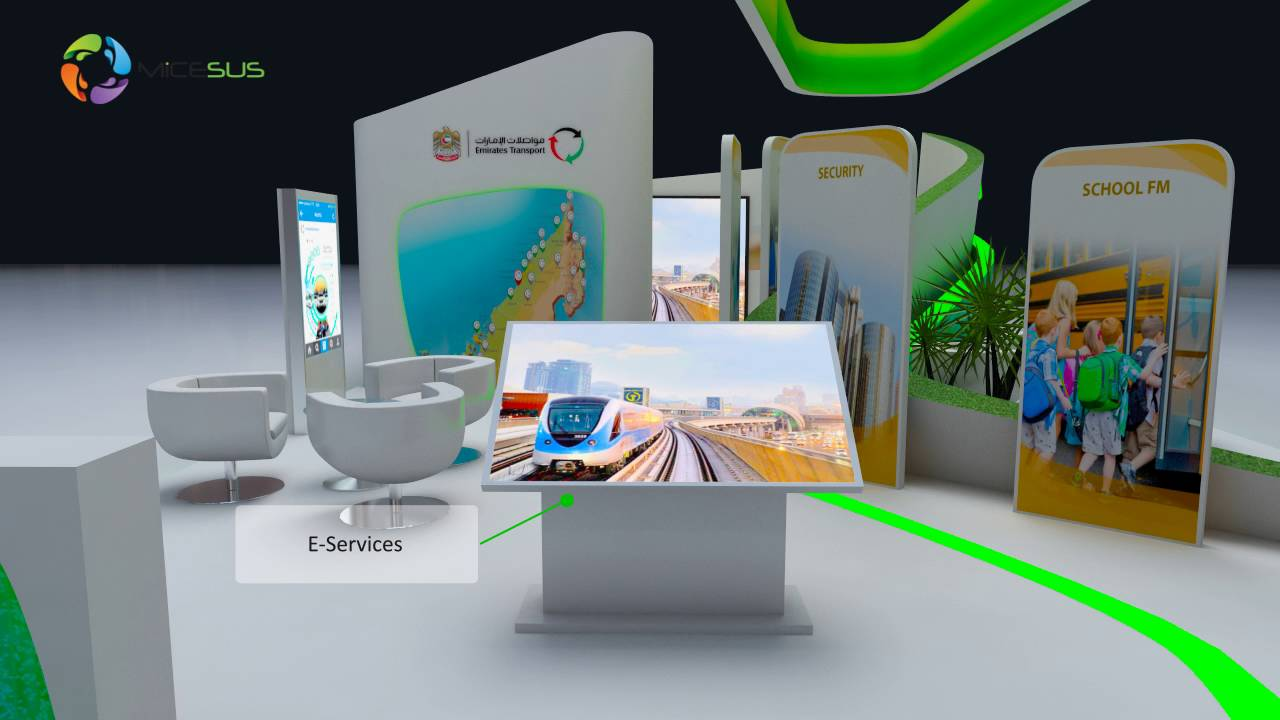 Exhibition Stand Transport : Emirates transport smart government exhibition stand