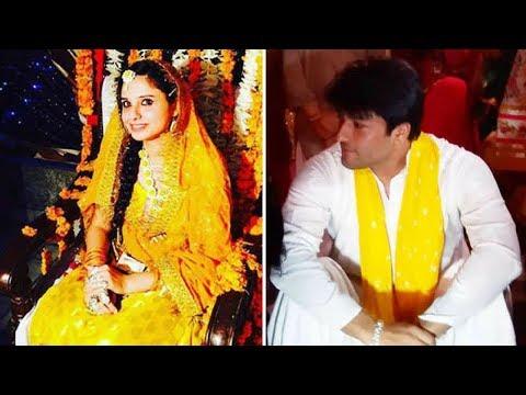 Diya aur Baati Hum Actor ANAS RASHID(Sooraj Rathi) Haldi & Mehndi Ceremony
