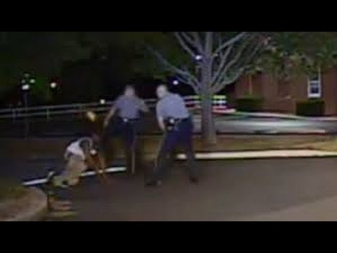 Dashcam footage shows White Delaware police officer kicking Black suspect in face