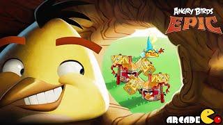 Angry Birds Epic: NEW Cave 11 Mocking Canyon Level 9 Gameplay Walkthrough