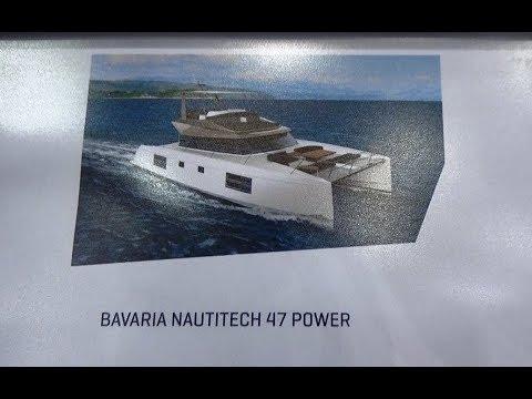 Boot Düsseldorf 2018 NAUTITECH 47 POWER Katamaran Bavaria Catamarans Yachts Bavaria Motor by ITA74