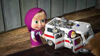 Masha and the Bear Ambulance Playset from Simba