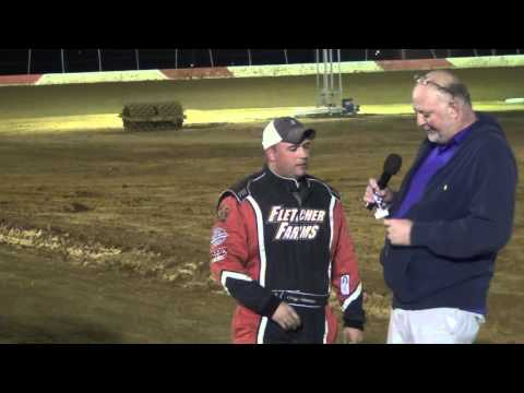 Trail-Way Speedway 358 Sprint Car Hard Charger 4-15-16