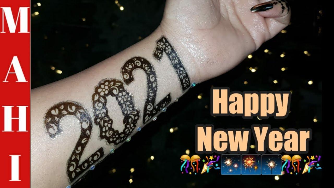 New Year 2021 Mehandi Design