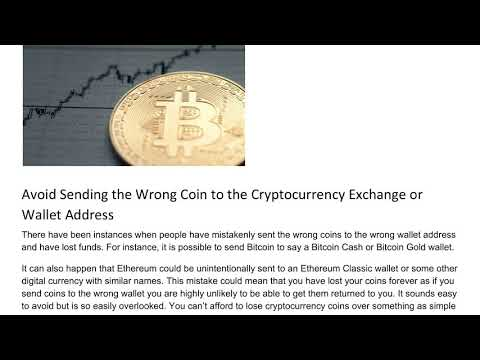 How To Avoid The Most Common Cryptocurrency Mistakes - Esha Gungadin