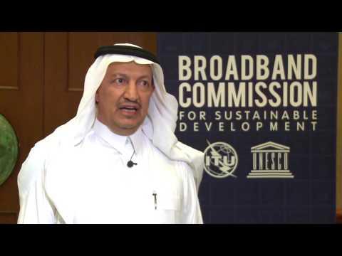 Abdulaziz Salem AlRuwais, Governor, Communication and Information Tech. Commission, Saudi Arabia