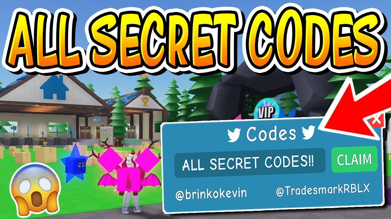 ALL SECRET CODES IN UNBOXING SIMULATOR!! (Roblox) - YouTube